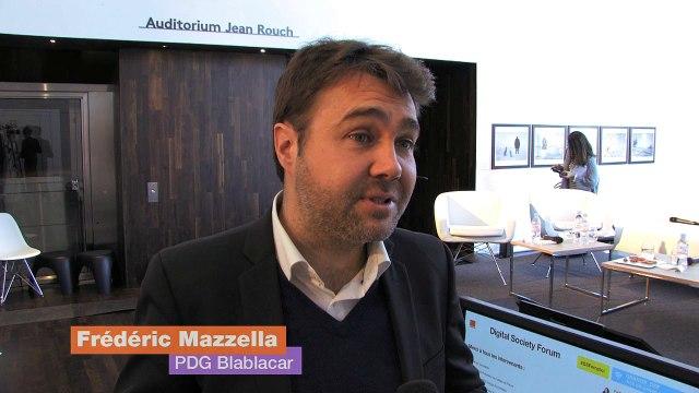Frédéric Mazella et l'emploi à l'heure du numérique