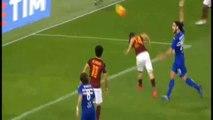 Alessandro Florenzi Goal - AS Roma 1 - 0 Sampdoria - 07-02-2016
