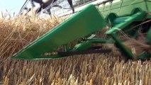 JOHN DEERE S680i à la moisson en 2012 ( JOHN DEERE S680i to harvest in 2012 )