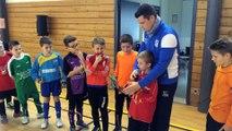 Lecture des Valeurs du Foot (tournoi Futsal U11 club)