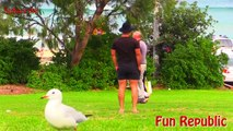 Hilarious Fart Prank On HOT GIRLS - Pooter Pranks - Farting In Public (Fun Republic)