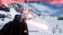 DARTH VADER & LUKE SKYWALKER GAMEPLAY! (Star Wars Battlefront Multiplayer Beta Gameplay)