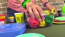 Çocuk filmi Play Doh hamurundan yemek yapıyoruz