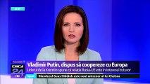 Putin, dispus să coopereze cu Europa. Preşedintele rus Vladimir Putin nu pare impresionat de decizia liderilor europeni de a extinde sancţiunile economice la adresa Moscovei cu încă şase luni.