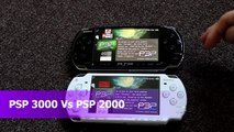 Review Sony Playstation Portable PSP 3000 Brite Vs PSP 2000 Slim Comparison
