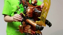 Transformers Toys Review - Transformers Movie Grimlock Toy Review - Transformers Grimlock Toy