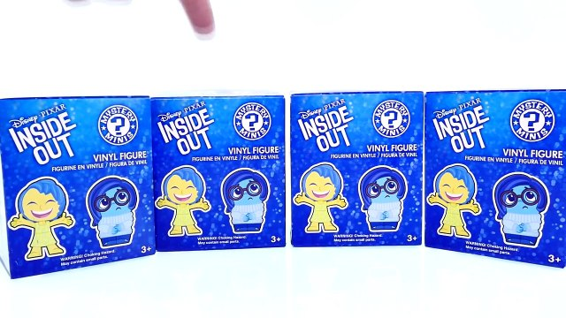 Inside Out & Disney Frozen Mystery Box Toys - Learn to Count with Blind Boxes by DCTC