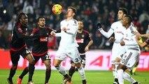 Beşiktaş Gaziantepspor Maçı 4-0 Maçtan Görüntüler 07.02.2016 BJK Süper Lig Beşiktaş maçı