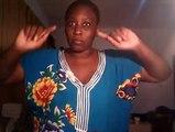 Guigui Diallo répond  a ceux    qui disent qu'elle n'est pas branché qu'elle est  villageoise