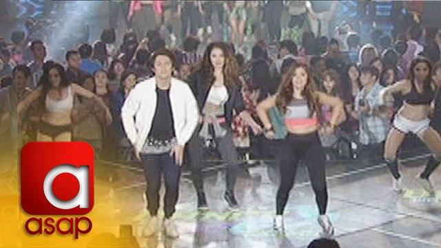 ASAP: Maja, Enrique & Sarah in a dance showdown