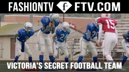 Victoria's Secret Angels Football Team 2016 | FTV.com