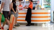 Eating Peoples Food Prank - Stealing Food From People - Pranks in Public