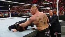 WWE Wrestling 2015 | Seth Rollins vs Brock Lesnar | Full Match |- WWE World Heavyweight Championship Match, 2015