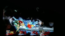 DV & Joe vs Amiibo Link & Fox Super Smash Bros. Wii U Team Battle w/commentary