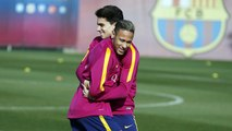 FC Barcelona training session: Training begins for Copa del Rey semi-final second leg