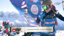 Le run d'Anne-Flore Marxer au Freeride World Tour 2016 à Chamonix