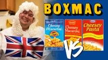 BoxMac 34: UK Macs - Marshall's Cheesey Macaroni, Cheesey Pasta, and Cucina Cheesey Macaroni
