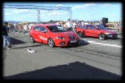 Seat Leon FR Vs. Honda Civic 1.5 Turbo Drag Race