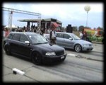 Audi RS4 Vs. Audi RS4 Drag Race