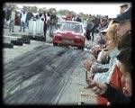 Honda Civic Red Rocket Turbo [10.4@143] Vs. Honda CRX Turbo Drag Race