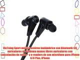 VicTsing Sport música estéreo inalámbrico con Bluetooth 40 auriculares de diadema manos libres