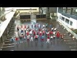 Flashmob UNSS Euro 2016 - Collège François Truffaut - Asnières sur Seine (92)