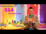 Mister Maker's Arty Party Q&A | Arty Party | Mister Maker