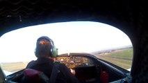Un pilote d'avion amateur forcé de faire un atterrissage d'urgence suite à une panne moteur