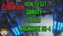 """Black Ops 3 Zombies """"DER EISENDRACHE"""" - """"RAGNAROK DG-4"""" GRAVITY SPIKES GUIDE! (Wonder Weapon)"""