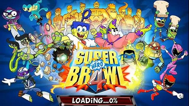 Super Brawl 4 Part 3 - Red Power Ranger VS. Spongebob Squarepants, Plankton, Sanjay and Craig!