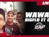 Wawad en live dans le Planète Rap de Bigflo et Oli