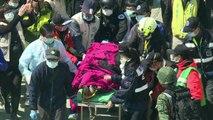 4 personas halladas vivas entre los escombros en Taiwán
