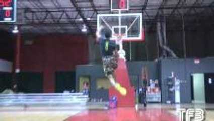 Windmill Dunk From the Free Throw Line