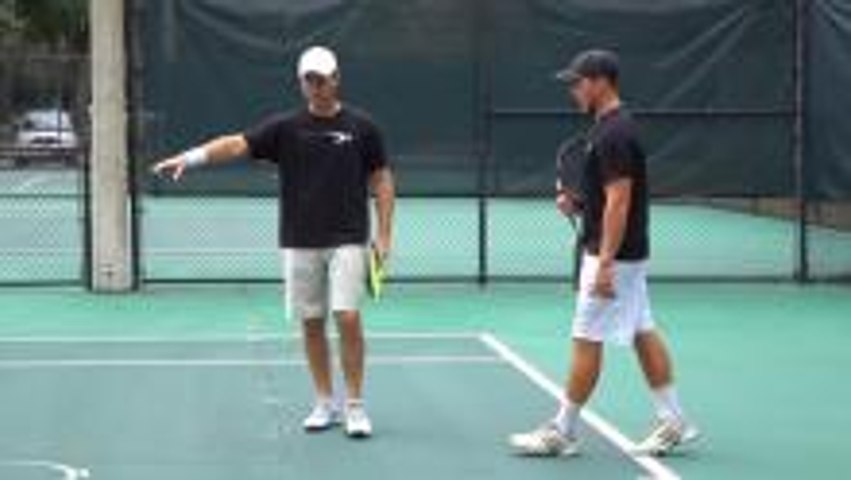Pro Tennis Footwork Drill: How To Defend and Attack