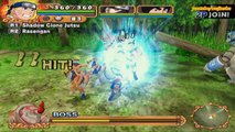 Naruto Uzumaki Chronicles 2 Walkthrough Part 14 Gandos Red and Blue Puppets Boss Fight 60 FPS