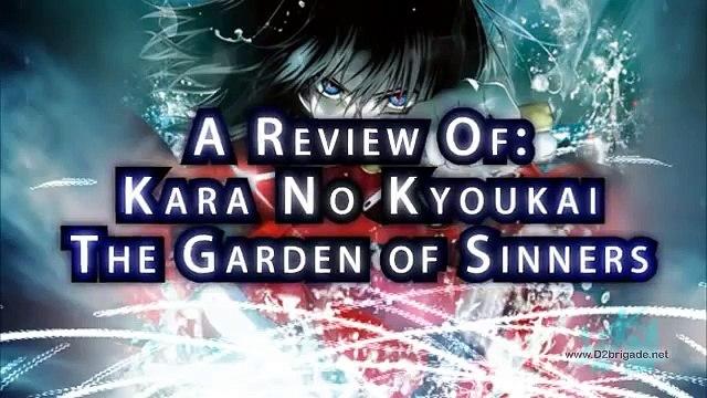 GR Anime Review: Kara No Kyoukai - The Garden of Sinners