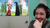 AND EVERYONE GOES YANDERE - Noble Reacts to SAO Abridged Parody: Episode 04