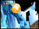 Bomberman 64 - World 4: White Glacier - Stage 1: Blizzard Peaks (Gold Cards and Custom Balls)