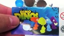 Surprise Eggs Unboxing Kinder Surprise Dinosaur toy. Huevo kinder sorpresa con dinosaurio