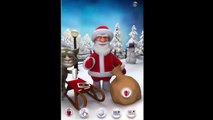 Christmas Talking TOM & Angela & SANTA - Music Xmas - Cartoon game