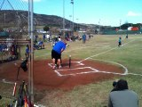 Le homerun le plus ridicule. 2 gamins ridicules en Baseball