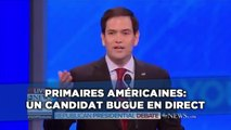 Primaires américaines: Un candidat bugue en direct