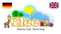 Planeten Lied Planet Song / Zweisprachiges Kinderlied / Deutsch Englisch