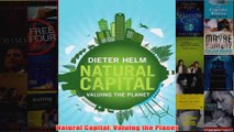 Download PDF  Natural Capital Valuing the Planet FULL FREE