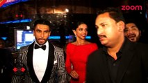 Ranveer Singh gets angry when asked about Deepika Padukone-Bollywood News-#TMT