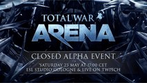 Total War: ARENA - Alpha Gameplay Trailer - ESRB