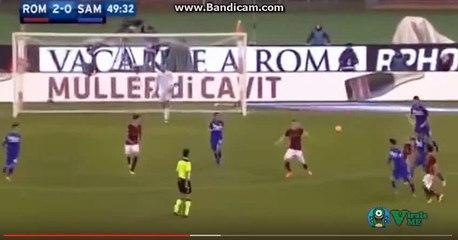 Diego perotti amaizing goal vs sampdoria