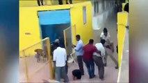 Un léopard attaque un homme dans une école en Inde