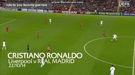 Cristiano Ronaldo v Liverpool Goal of the Season (Gol - Live) HD