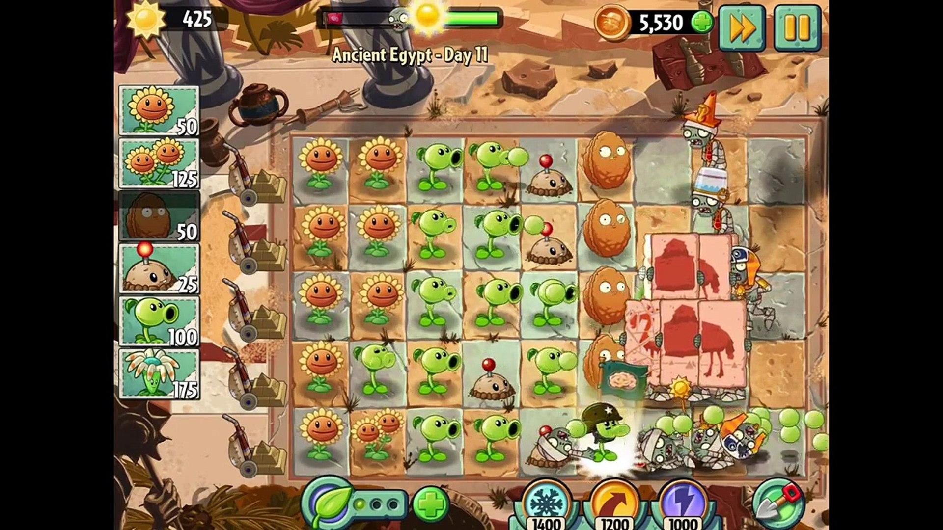 игра мультик приключеник овощи против зомби 2 игра египед часть 4 заключительная # 1